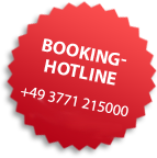 Eye-Catcher: Booking-Hotline
